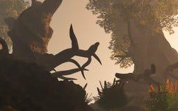 απόκοσμα δάση απεικόνιση αποθεμάτων