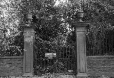 Απόκοσμος οι πύλες αποκριών στοκ εικόνα με δικαίωμα ελεύθερης χρήσης