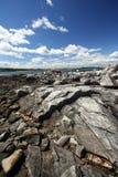 απόκρημνη ακτή Στοκ Εικόνες