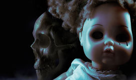 Απόκρυφη κούκλα φαντασμάτων Στοκ Φωτογραφία