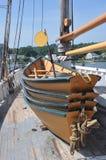 Απόκρυφος θαλάσσιος λιμένας dingy Στοκ φωτογραφία με δικαίωμα ελεύθερης χρήσης