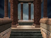 απόκρυφος ναός Στοκ φωτογραφίες με δικαίωμα ελεύθερης χρήσης