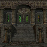 απόκρυφος ναός Στοκ Εικόνα