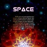 Απόκρυφο λαμπρό αστέρι με τα σπινθηρίσματα ελεύθερη απεικόνιση δικαιώματος