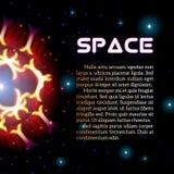 Απόκρυφο λαμπρό αστέρι με τα σπινθηρίσματα διανυσματική απεικόνιση