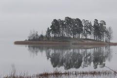 Απόκρυφο νησί Στοκ Εικόνες