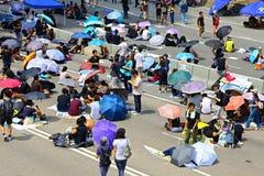 Απόκλιση διαμαρτυρομένων σε ναυαρχείο, Χογκ Κογκ Στοκ φωτογραφίες με δικαίωμα ελεύθερης χρήσης
