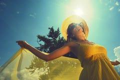 απόλαυση ημέρας ηλιόλουστη στοκ εικόνες με δικαίωμα ελεύθερης χρήσης