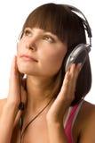 Απόλαυση της μουσικής στοκ φωτογραφίες με δικαίωμα ελεύθερης χρήσης