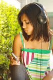απόλαυση της μουσικής στοκ φωτογραφία με δικαίωμα ελεύθερης χρήσης
