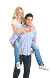 απόλαυση του θηλυκού γύ&r Στοκ φωτογραφία με δικαίωμα ελεύθερης χρήσης