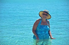 Απόλαυση των υδάτων των Καραϊβικών Θαλασσών στοκ εικόνες