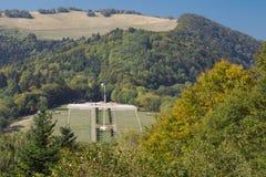 Απόμακρη άποψη του πολεμικού μνημείου Vieil Armand Στοκ φωτογραφία με δικαίωμα ελεύθερης χρήσης