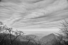 Απόμακρος ορίζοντας του βουνού Fanjing στοκ φωτογραφίες