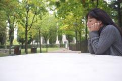 απόμερη γυναίκα Στοκ φωτογραφία με δικαίωμα ελεύθερης χρήσης