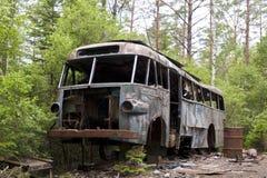 Απόρριψη αυτοκινήτων σε Kirkoe Mosse στοκ εικόνες