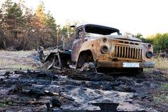 Απόρριψη αυτοκινήτων Στοκ εικόνα με δικαίωμα ελεύθερης χρήσης