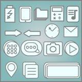 Απόσπασμα, εικονίδια υποσημειώσεων αστερίσκων Κοινωνικά μέσα και ampersand σύμβολα Hashtag Στοκ φωτογραφία με δικαίωμα ελεύθερης χρήσης