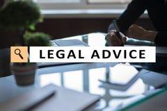 Απόσπασμα νομικής συμβουλής στην εικονική οθόνη διαβούλευση Πληρεξούσιος στο νόμο έννοια δικηγόρων, επιχειρήσεων και χρηματοδότησ στοκ φωτογραφίες με δικαίωμα ελεύθερης χρήσης