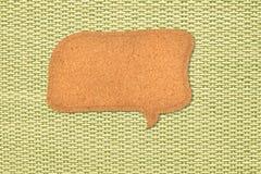 απόσπασμα φυσαλίδων χαρτ&om διανυσματική απεικόνιση