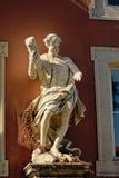 Απόστολος Jude αγαλμάτων eof που κρατά μια λέσχη στοκ εικόνα
