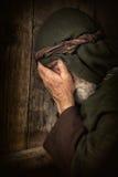 Απόστολος Peter στην ντροπή και τη μεταμέλεια στοκ φωτογραφίες