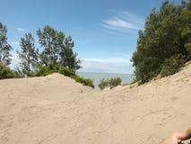 Απότομοι βράχοι άμμου στοκ εικόνα με δικαίωμα ελεύθερης χρήσης