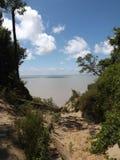 Απότομοι βράχοι άμμου στοκ φωτογραφίες με δικαίωμα ελεύθερης χρήσης