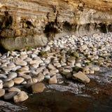 Απότομοι βράχοι ηλιοβασιλέματος στοκ φωτογραφία με δικαίωμα ελεύθερης χρήσης