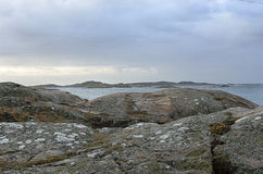 Απότομοι βράχοι θαλασσίως Στοκ εικόνες με δικαίωμα ελεύθερης χρήσης