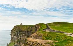 απότομοι βράχοι Ιρλανδία moher Στοκ Εικόνα