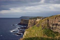 απότομοι βράχοι Ιρλανδία moher Στοκ Εικόνες