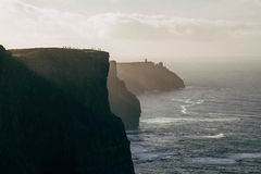απότομοι βράχοι Ιρλανδία moher Στοκ φωτογραφία με δικαίωμα ελεύθερης χρήσης