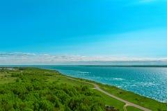 Απότομοι βράχοι στην ακτή σε Paldiski, Εσθονία Στοκ εικόνα με δικαίωμα ελεύθερης χρήσης