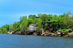 Απότομοι βράχοι στο έδαφος του Άρνεμ Στοκ Φωτογραφίες