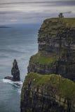 Απότομοι βράχοι της Ιρλανδίας Moehr Στοκ φωτογραφίες με δικαίωμα ελεύθερης χρήσης