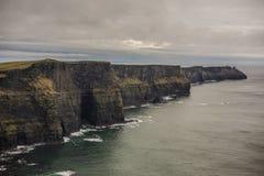 Απότομοι βράχοι της Ιρλανδίας Moehr Στοκ εικόνες με δικαίωμα ελεύθερης χρήσης