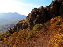 Απότομοι βράχοι της Κριμαίας Στοκ φωτογραφία με δικαίωμα ελεύθερης χρήσης