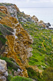 Απότομοι βράχοι - της Μάλτα τοπίο Στοκ φωτογραφία με δικαίωμα ελεύθερης χρήσης