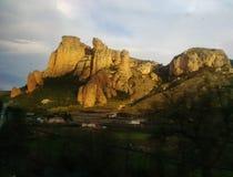 Απότομοι βράχοι του Λα Rioja Ισπανία Στοκ Φωτογραφία