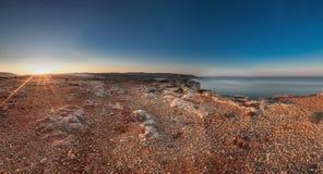 Απότομοι βράχοι του σημείου Majjistral Στοκ εικόνες με δικαίωμα ελεύθερης χρήσης