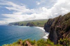 απότομοι βράχοι Χαβάη Στοκ εικόνες με δικαίωμα ελεύθερης χρήσης