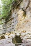 Απότομοι βράχοι ψαμμίτη Στοκ Εικόνες