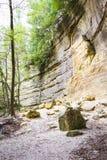 Απότομοι βράχοι ψαμμίτη Στοκ φωτογραφία με δικαίωμα ελεύθερης χρήσης