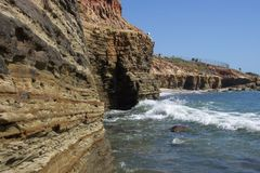 απότομοι βράχοι στοκ φωτογραφία με δικαίωμα ελεύθερης χρήσης