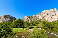 Απότομοι βράχοι Arco - Trentino Ιταλία Στοκ Εικόνα