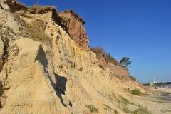 Απότομοι βράχοι Atlantida Στοκ εικόνα με δικαίωμα ελεύθερης χρήσης