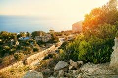 Απότομοι βράχοι Dingli στοκ εικόνες με δικαίωμα ελεύθερης χρήσης