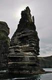 Απότομοι βράχοι Moher θαλασσίως Στοκ Εικόνες