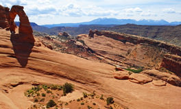 απότομοι βράχοι Utah Στοκ εικόνες με δικαίωμα ελεύθερης χρήσης